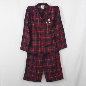 Kids Disney Store PJ Set Boy's sz 7/8